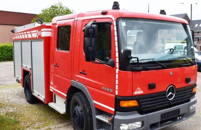 Mercedes Atego 1325 F, 2000L Vanasche Ziegler