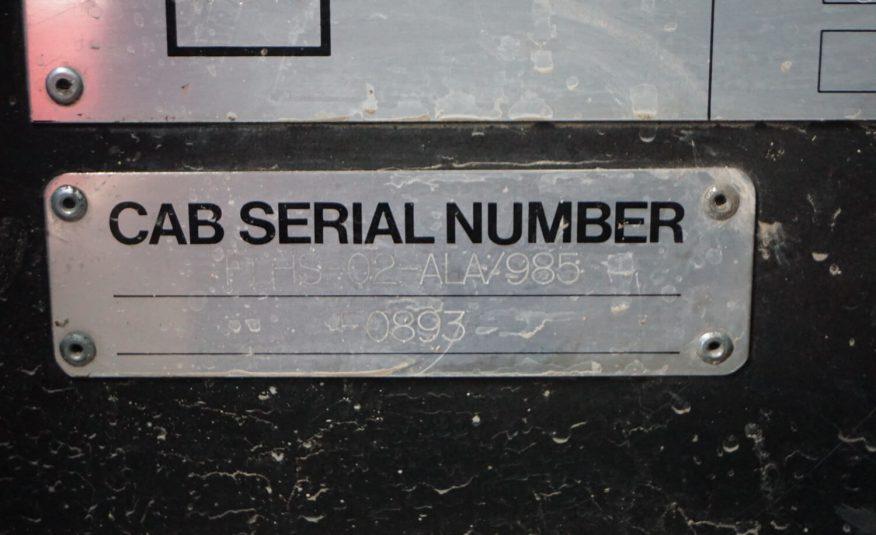 Dennis Sabre XL 2004, 2500L vody + 200L pena + 80L pena
