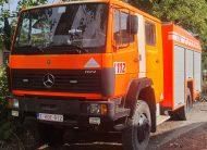Mercedes 1124 AF, 4×4, 2400L vody, 6 osob
